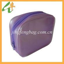 2014 fashion design lady clear pvc cosmetic bag