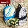 2015 Colourful design 600D promotional backpack