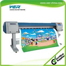 1.8 m eco solvente impresora WER-ES1802