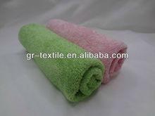 Eco friendly cotton face towel