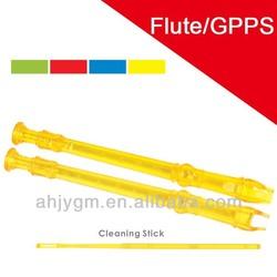 New Design Differnt Transparent Colored Plastic/GPPS Flute