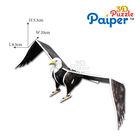 3d animal puzzle eagle paper model foam games