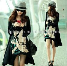 2015 korea style manufacturer custom t shirt long sleeve dressy clothing for tall women custom t shirt