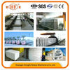 concrete compound slat etaining wall block machine