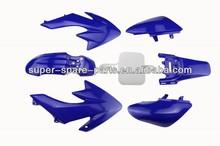 dirt bike spare parts fairing kits plastic body kit