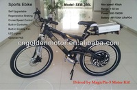CE approved ! 48V 1500W mountain e bicycle with Magic Pie 3 hub motor