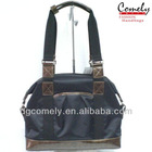 Comely handbag 2015 bag manufacturer polyester black cheap bag Germany Suppliers small canvas bags