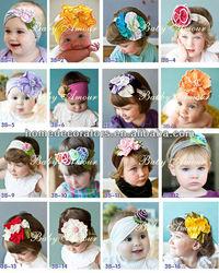 2014 Baby Headband Flower Hair Bands Children Hairband baby headband