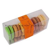 Manufacturer of PET clear macarons box