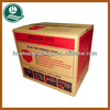 Large size colored wholesale shipping boxes