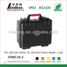 Hard plastic waterproof equipment case