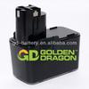 9.6V Cordless Tool Battery for Bosch Battery NI-CD/Ni-MH, 1.3Ah-3.3Ah