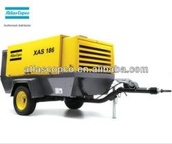 portable compressor;diesel compressor;atlas copco air compressor