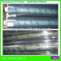 soft pvc roll super clear transparent plastic film