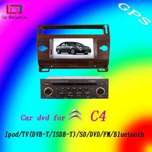 touch screnn citroen c4 car dvd player with rear camera
