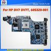 605320-001,Laptop Motherboard for HP DV7 DV7T Series Mainboard,System Board