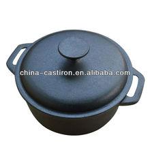 black stew pot