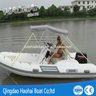 (CE)RIB470 470cm fiberglass hull high pressure pvc material sport&fishing boat