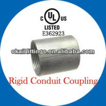 UL listed Electrical Rigid Steel Conduit Coupling/IMC/GRC conduit Coupling 1/2'-6'