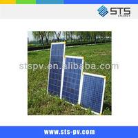 CE TUV certified 130W poly solar panel