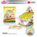 lantos gomosos de la marca algodóndeazúcar lleno de dulces
