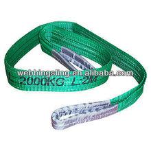 polyester flat webbing slings 2000kg