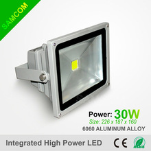 2-5 Years Warranty IP65 Waterpfoof Meanwell Driver 30W Outdoor Lighting LED Flood Light