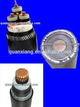 FACTORY LT MT HT voltage copper armoured cable multi core xlpe cable