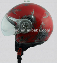 ECE approved abs half face helmet