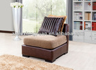 Antique hand carved sofa living room armless chair