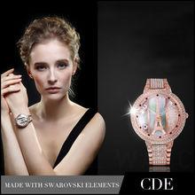 Women Crystal Luxury Watch,China Wholesale Lady Watch