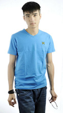 2013 new popular Men's slim V-neck T-Shirt