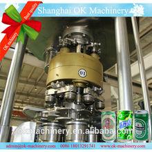OK-019 cola/coconut/can filling machine plant (Aluminum & PET can )