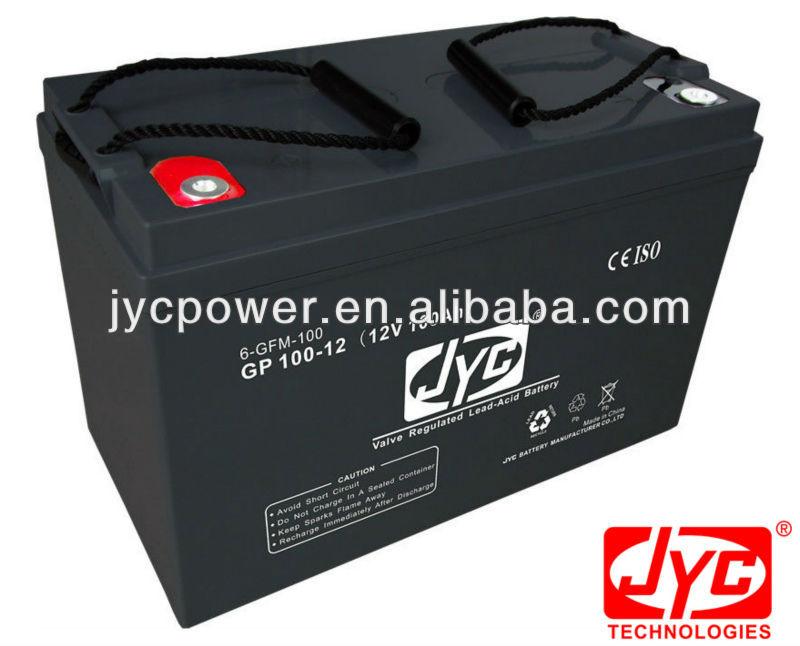 12v 100ah dry battery for inverters