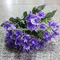 embelezar 5 cabeças de flores de tecido artificial atacado decoração