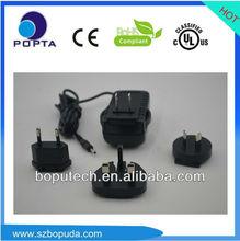 interchange 3.7v power British plug ac adapters