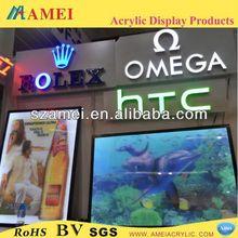 POP acrylic price list sign /acrylic display/acrylic