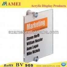 POP acrylic logo light sign /acrylic display/acrylic