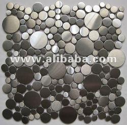 pebble Stainless steel tile/Metal tile