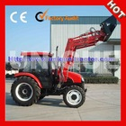 70HP 4x4wd Farming Tractor with Front End Loader