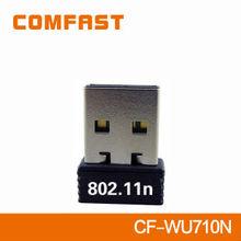 150Mbps Mini USB Wifi Adapter Wireless N LAN network Card support HDTV USB Wifi Driver COMFAST CF-WU710N