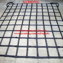 Nylon flat belt cargo net