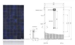 250W KOMAES Solar Module Solar Panel with TUV IEC MCS CEC INMETRO IDCOL SONCAP Certificates, [EU Antidumping Duty-Free]