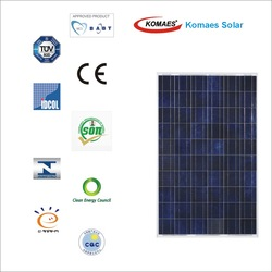 250W Solar Panel with TUV IEC MCS INMETRO IDCOL SONCAP Certificate [ EU Antidumping Duty-Free ]