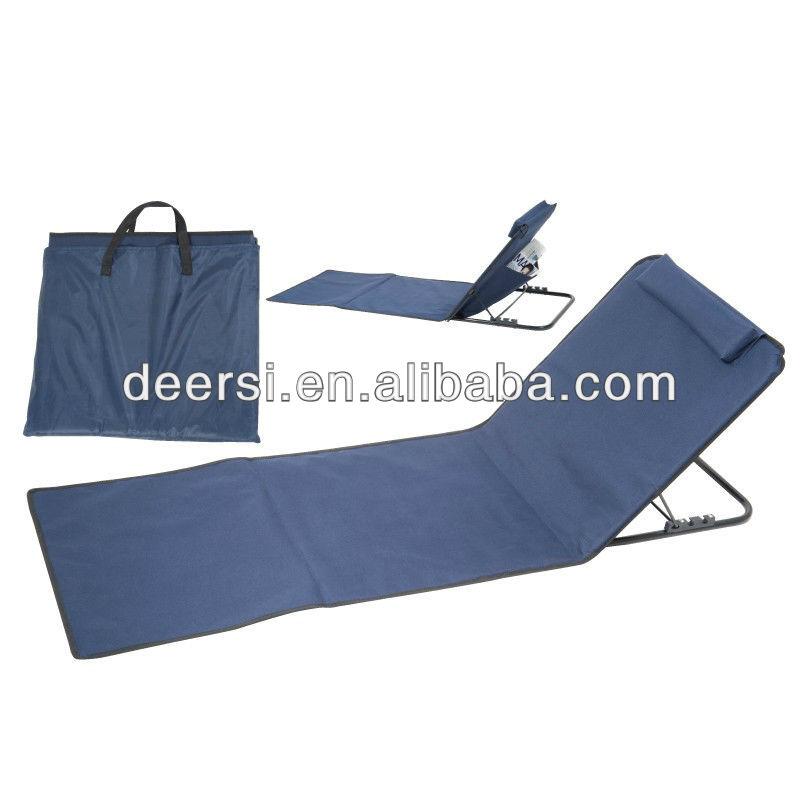 cadeau promotionnel articles meilleur choix tapis de plage avec dossier chaise pliante id du