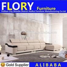 2014 mobiliário contemporâneo sofá em l f1369
