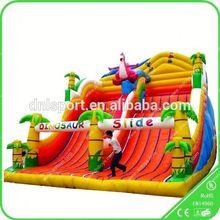Henan Inflatables,giant adult inflatable slip and slide/inflatable slip n slide