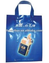 High quality logo printed plastic bag/die cut bag for garment