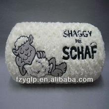Soft rectangle stuffed plush children bedding pillow/ throw cushions
