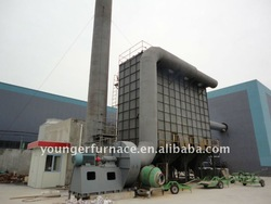dust collector for aluminium melting furnace